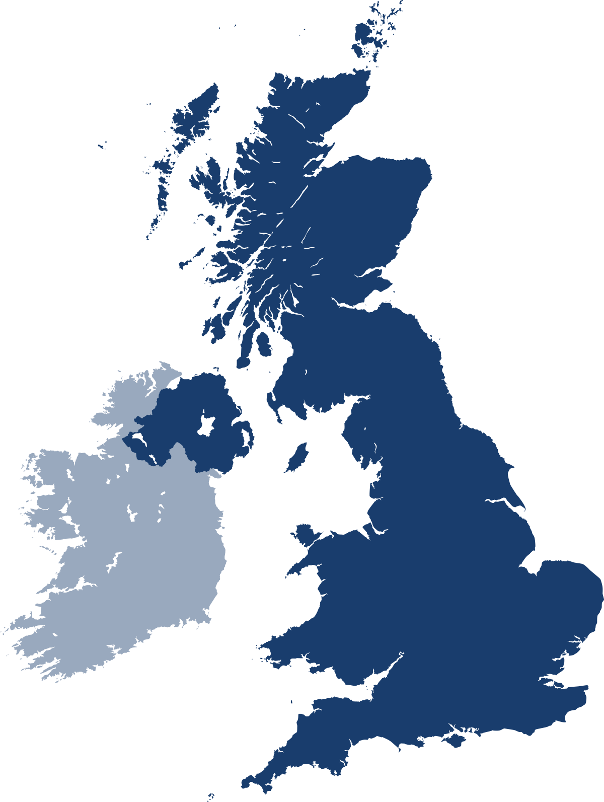 Dublcheck map of UK